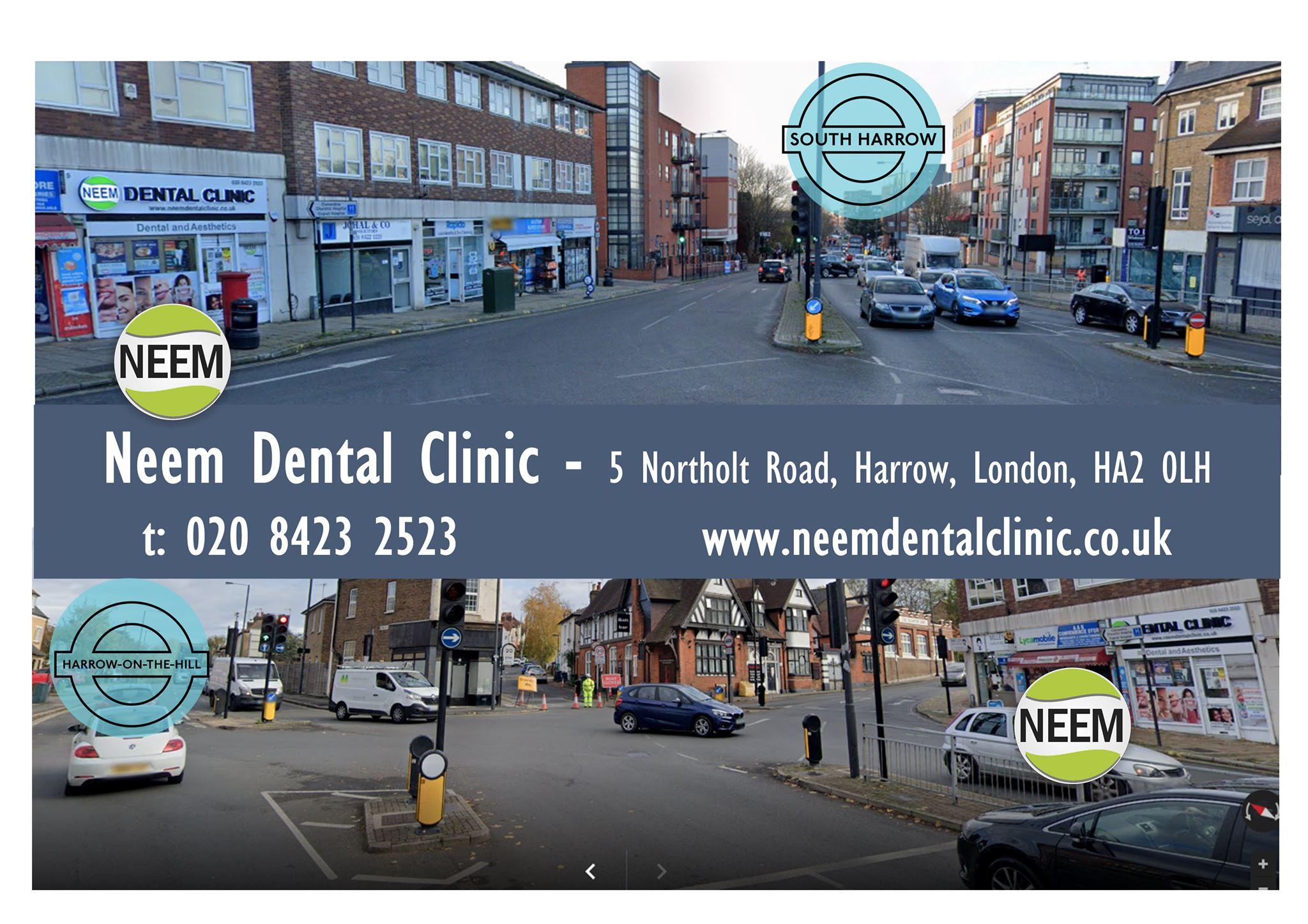 Dentist Harrow | Dental Clinic Harrow on Hill | Cosmetic Dentist South Harrow | Emergency Dentist Harrow | Neem Dental Clinic