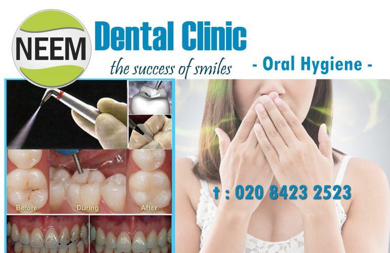 Oral Hygiene - Harrow - Neem Dental Clinic