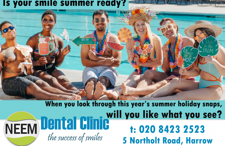 Is your smile summer ready?