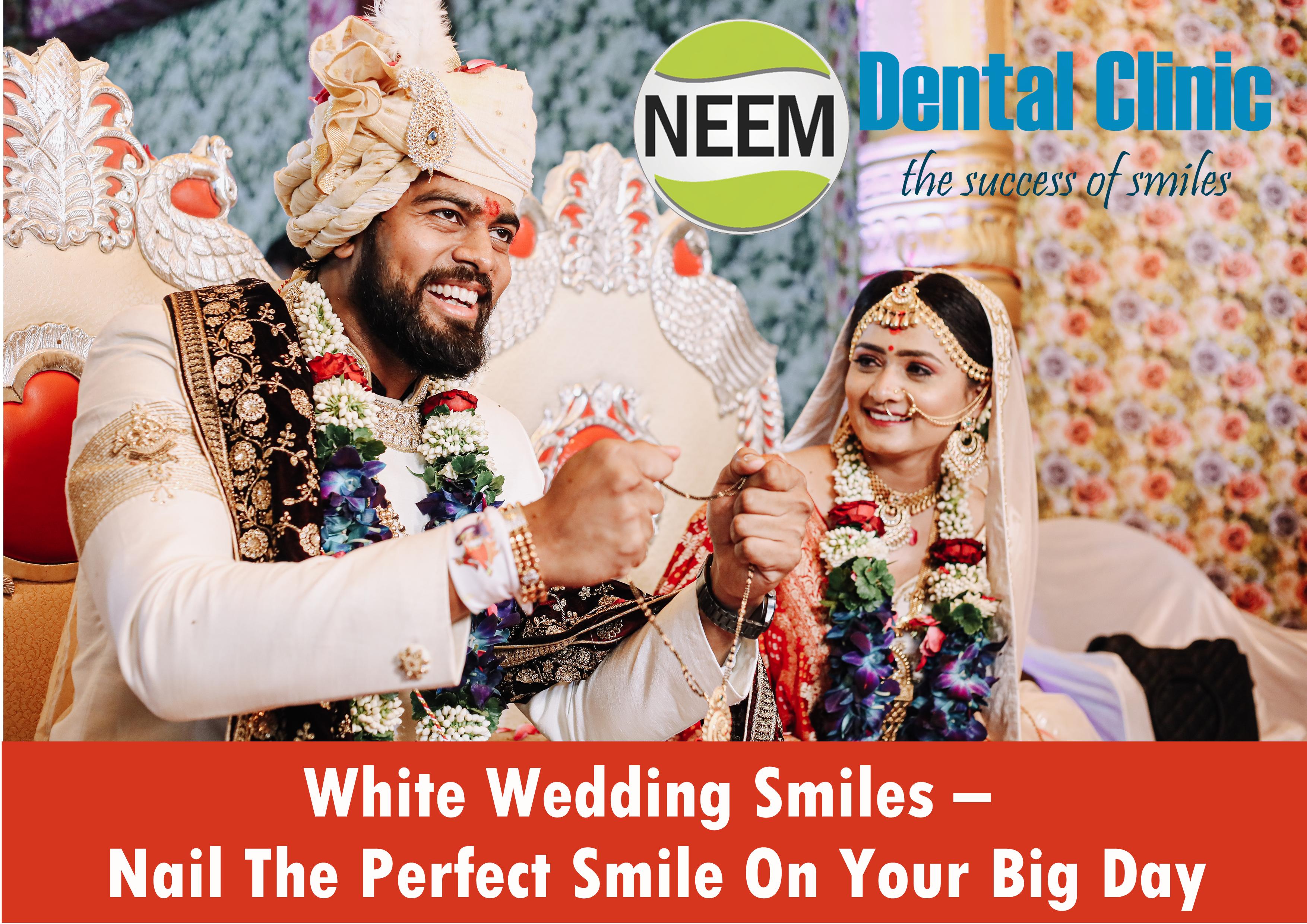 White Wedding Smiles