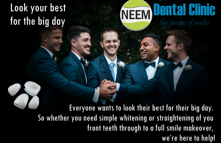 Look your best for the big day