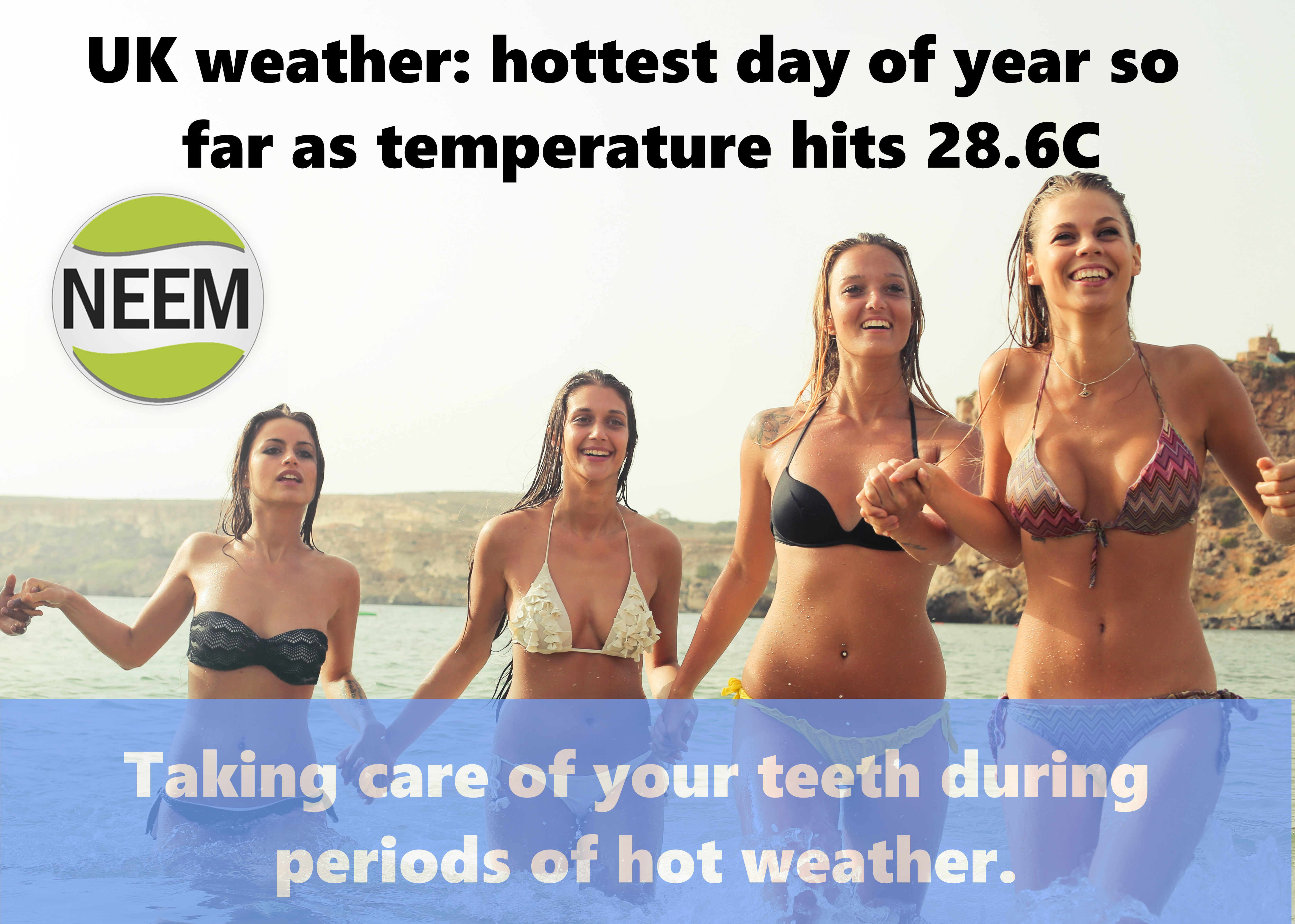 Hot Weather – Appropriate Dental Care