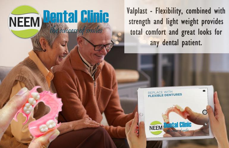 Flexi Valplast Partial Dentures