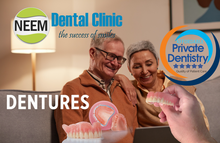 Full and partial denture experts in Harrow