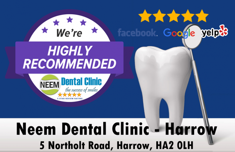 Top-rated Dentists in Northolt, Ruislip, and Harrow